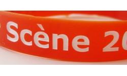 Silicone - gravé creux + imprimé (202*12*2mm)